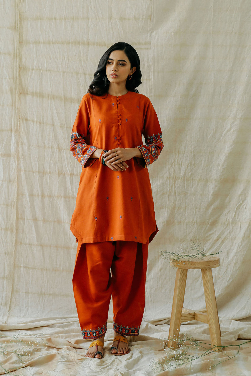 ROZANA SUIT (WTR401352) - Ethnic by Outfitters