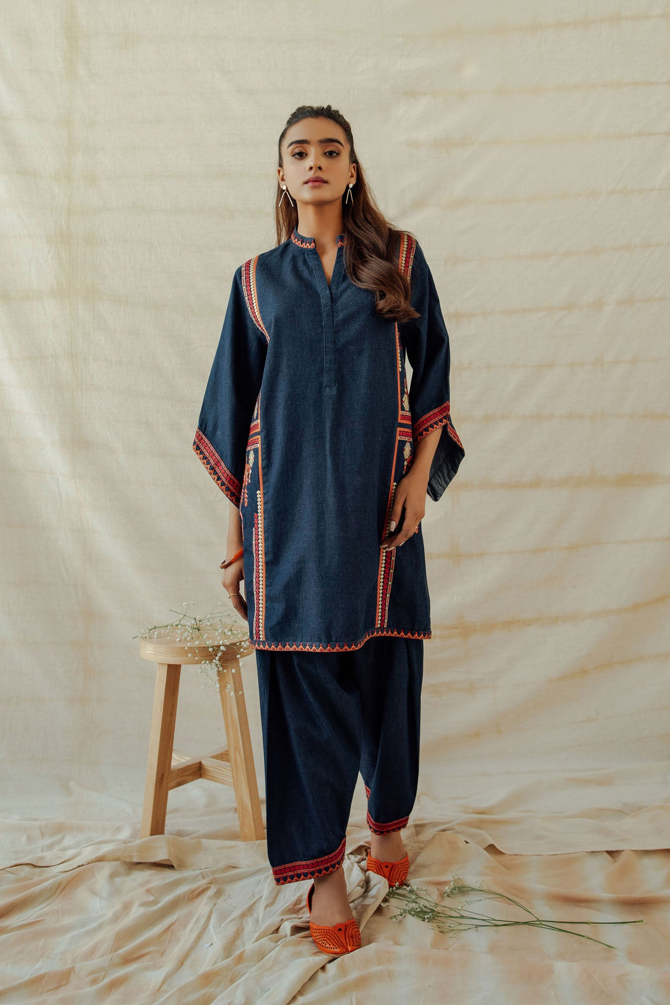 ROZANA SUIT (WTR401372) - Ethnic by Outfitters