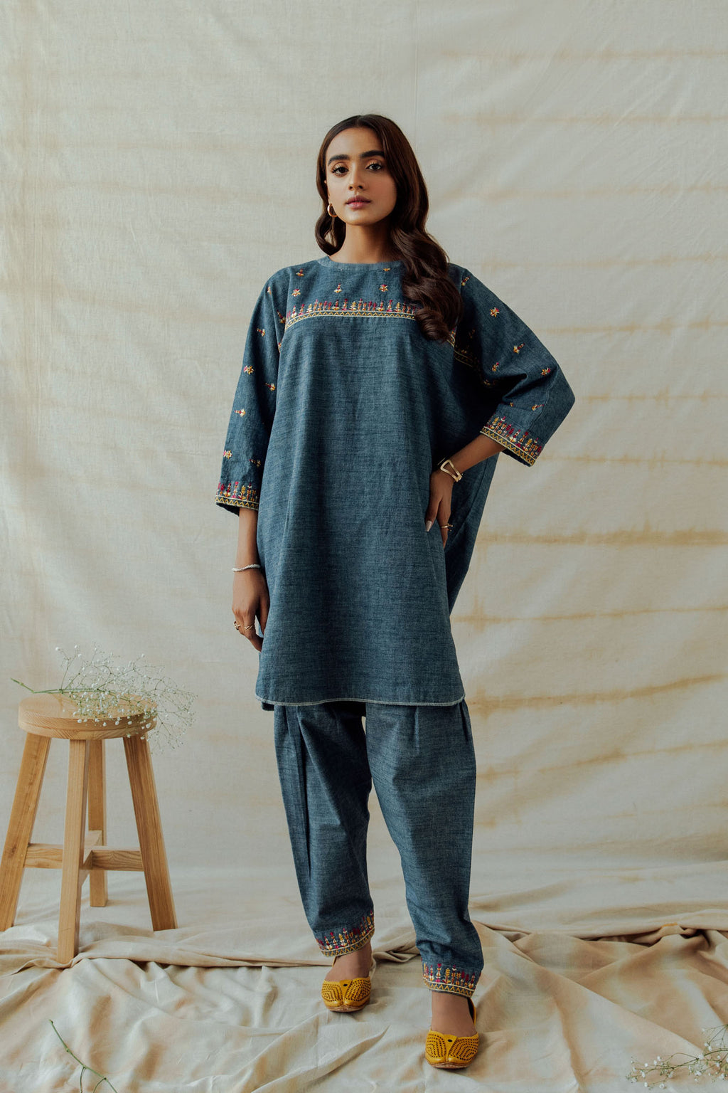 ROZANA SUIT (WTR401374) - Ethnic by Outfitters