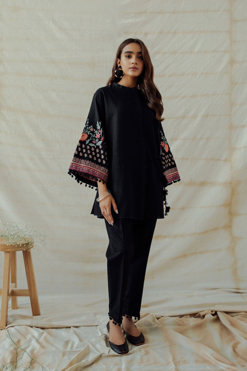 ROZANA SUIT (WTR401378) - Ethnic by Outfitters