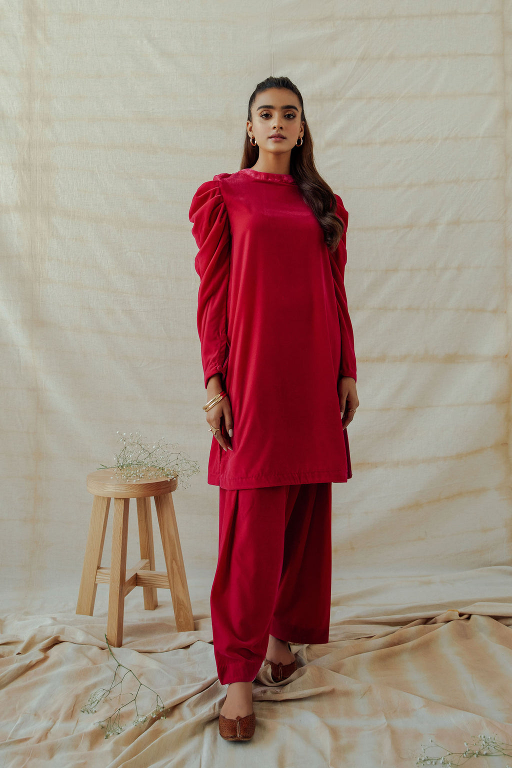 ROZANA SUIT (WTR401384) - Ethnic by Outfitters