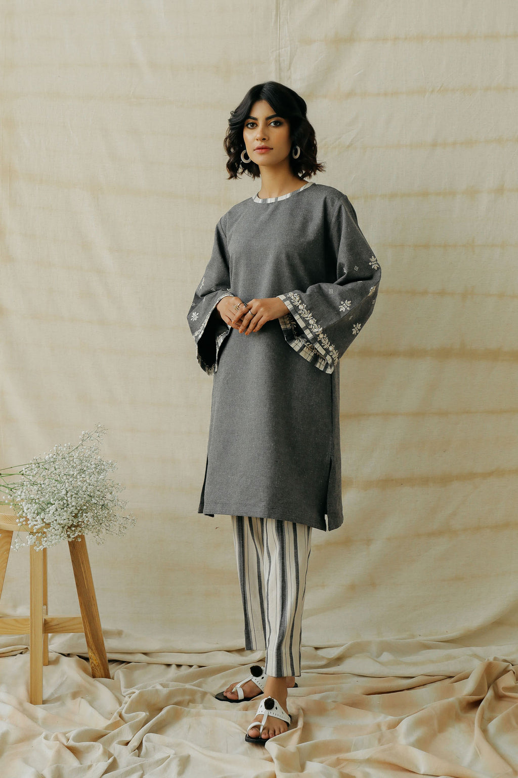 ROZANA SUIT (WTR401412) - Ethnic by Outfitters