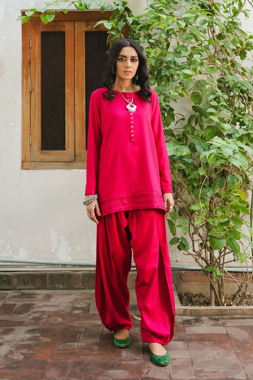 ROZANA SUIT (WTR401418) - Ethnic by Outfitters