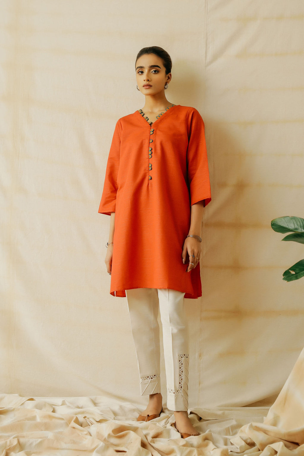 ROZANA SHIRT (WTR401422) - Ethnic by Outfitters