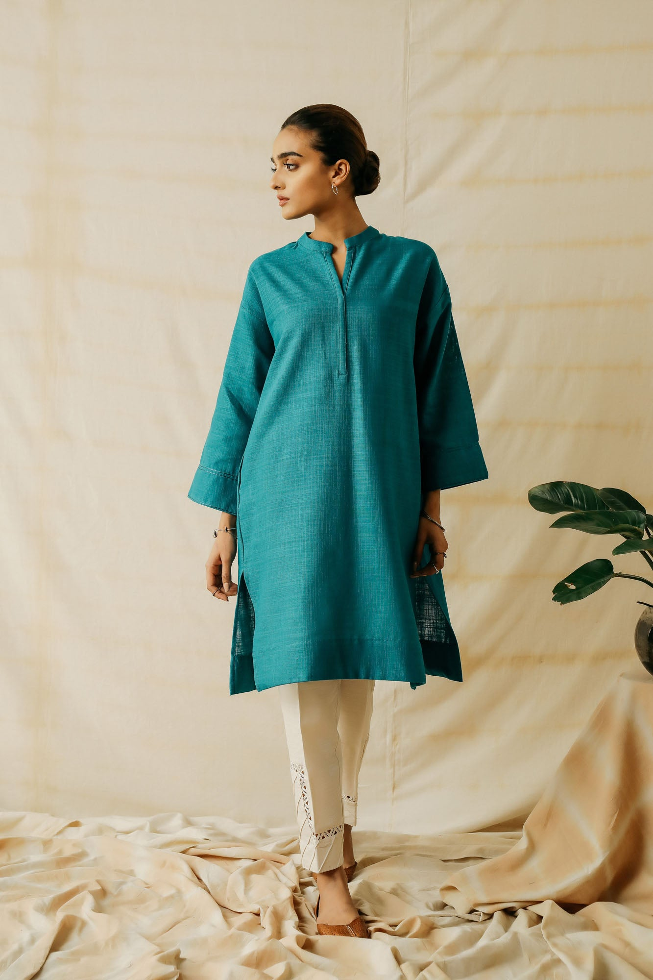 ROZANA SHIRT (WTR401424) - Ethnic by Outfitters