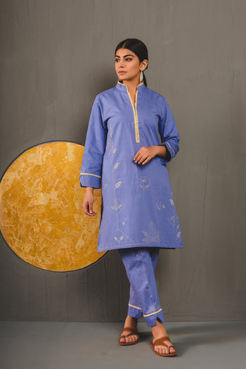 Rozana Suits (Shirt + Trouser)