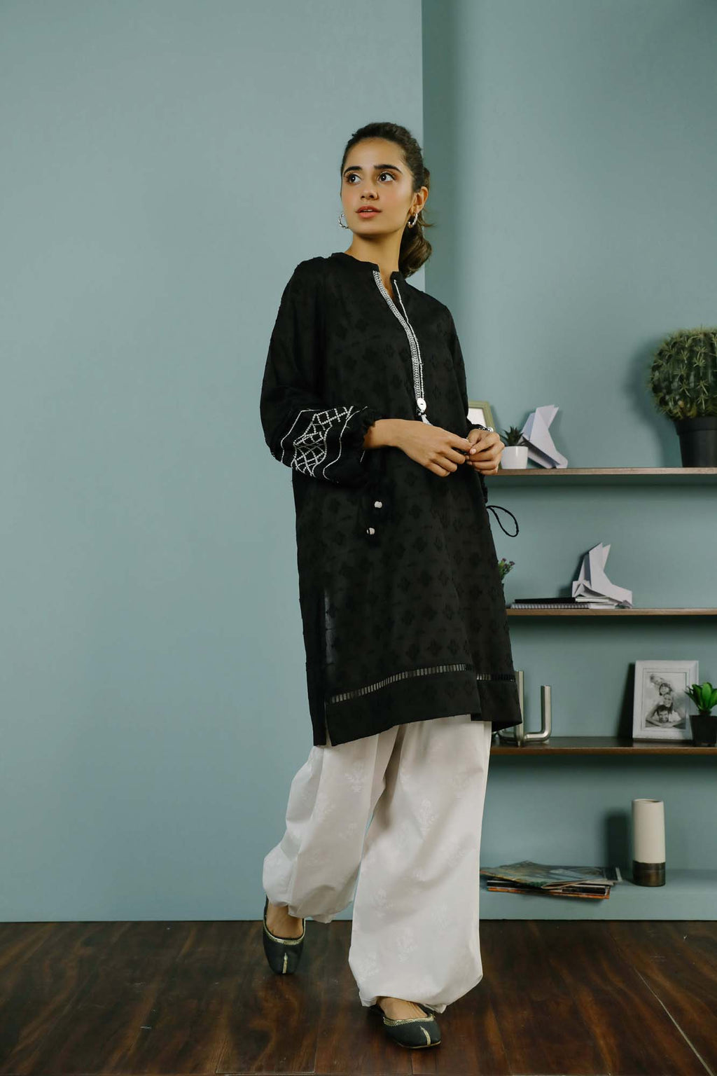 Rozana Shirt (WTR101455) - Ethnic by Outfitters