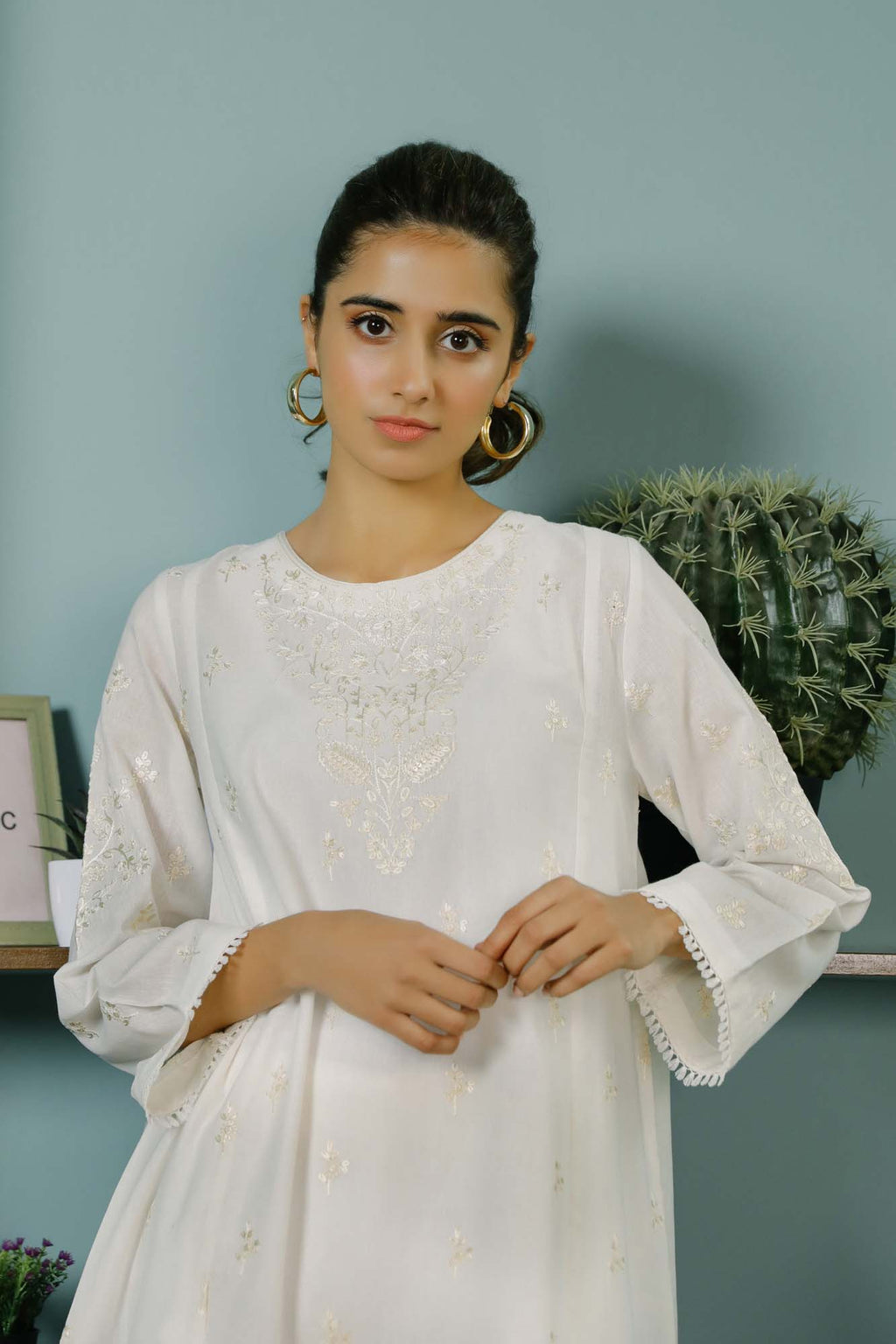 Rozana Shirt (WTR101457) - Ethnic by Outfitters