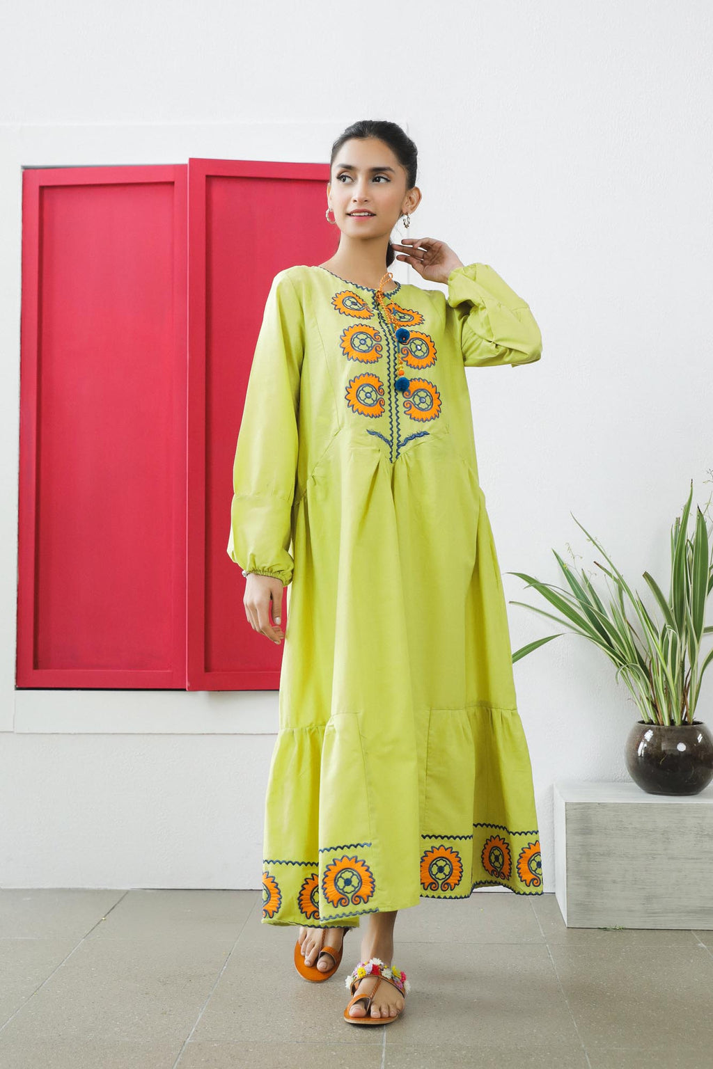 Unique Kurti (WTU101504) - Ethnic by Outfitters