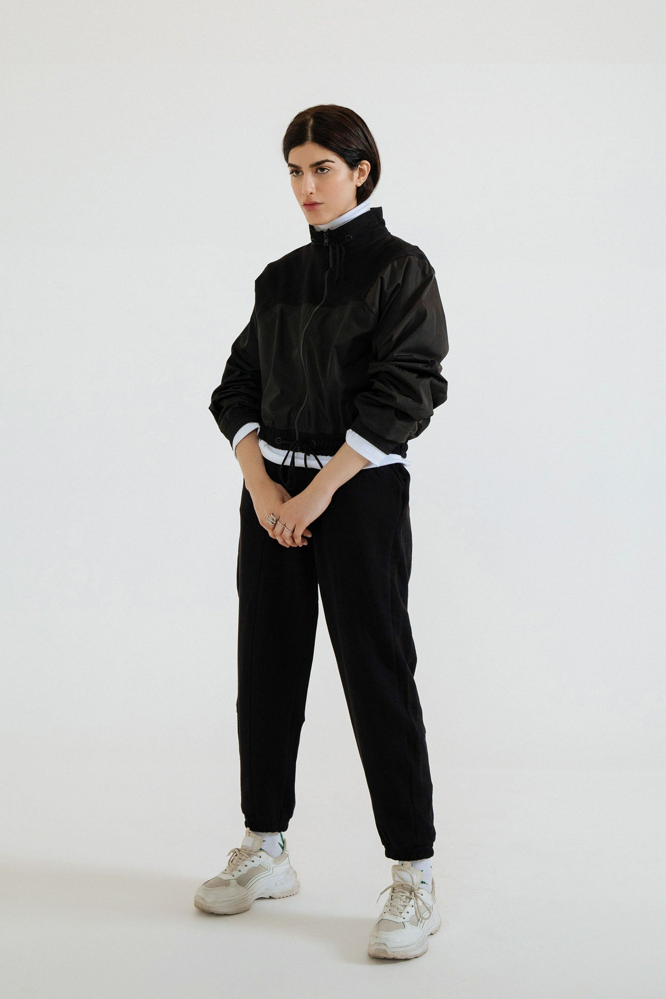 KNIT TERRY TECHNICAL TRACK SUIT (WTW401763)