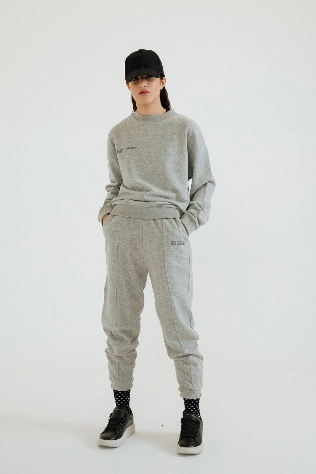 KNIT TERRY TRACK SUIT (WTW401783) - Ethnic by Outfitters