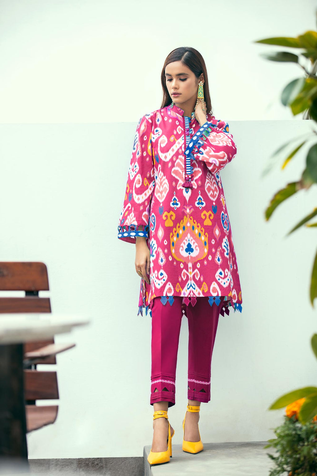 CERISE (WUC101299) - Ethnic by Outfitters