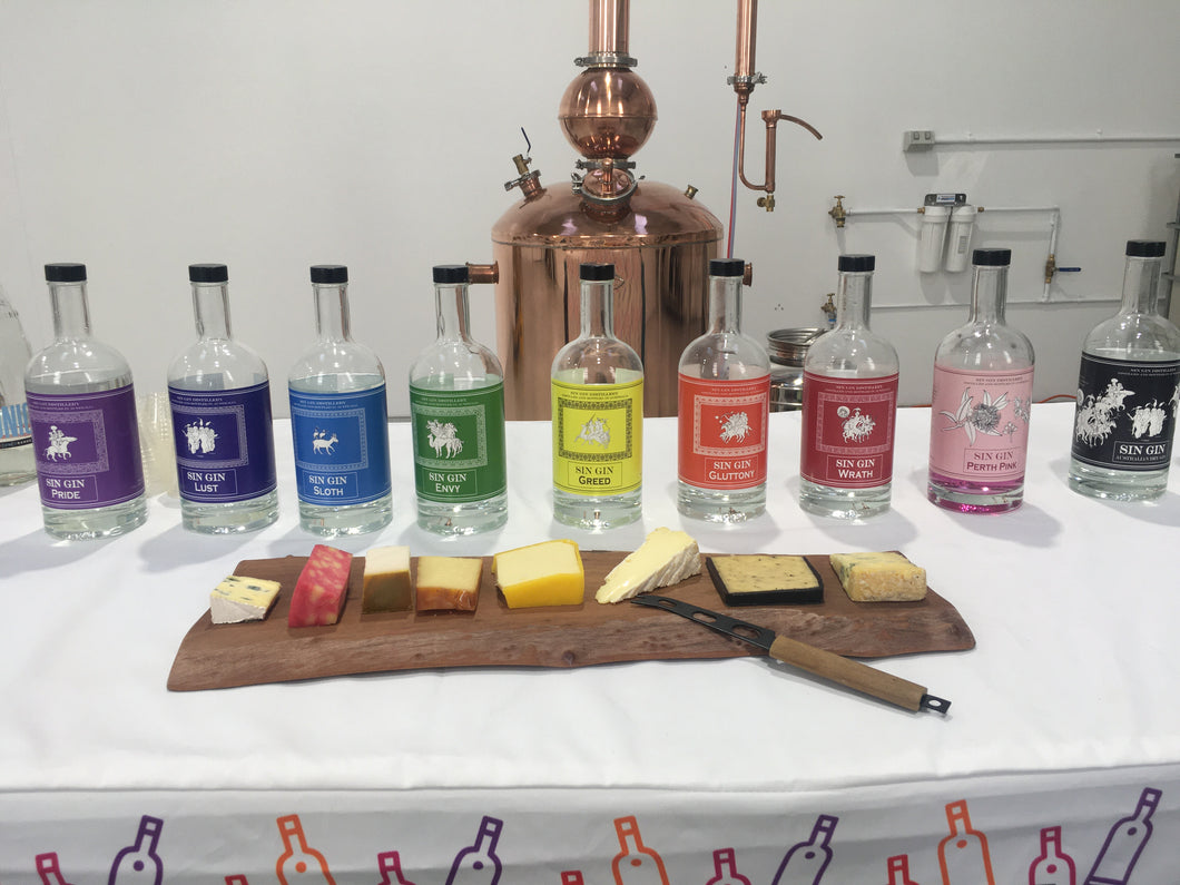 Gin Tasting @ The Distillery. Private Groups of up to 18 people