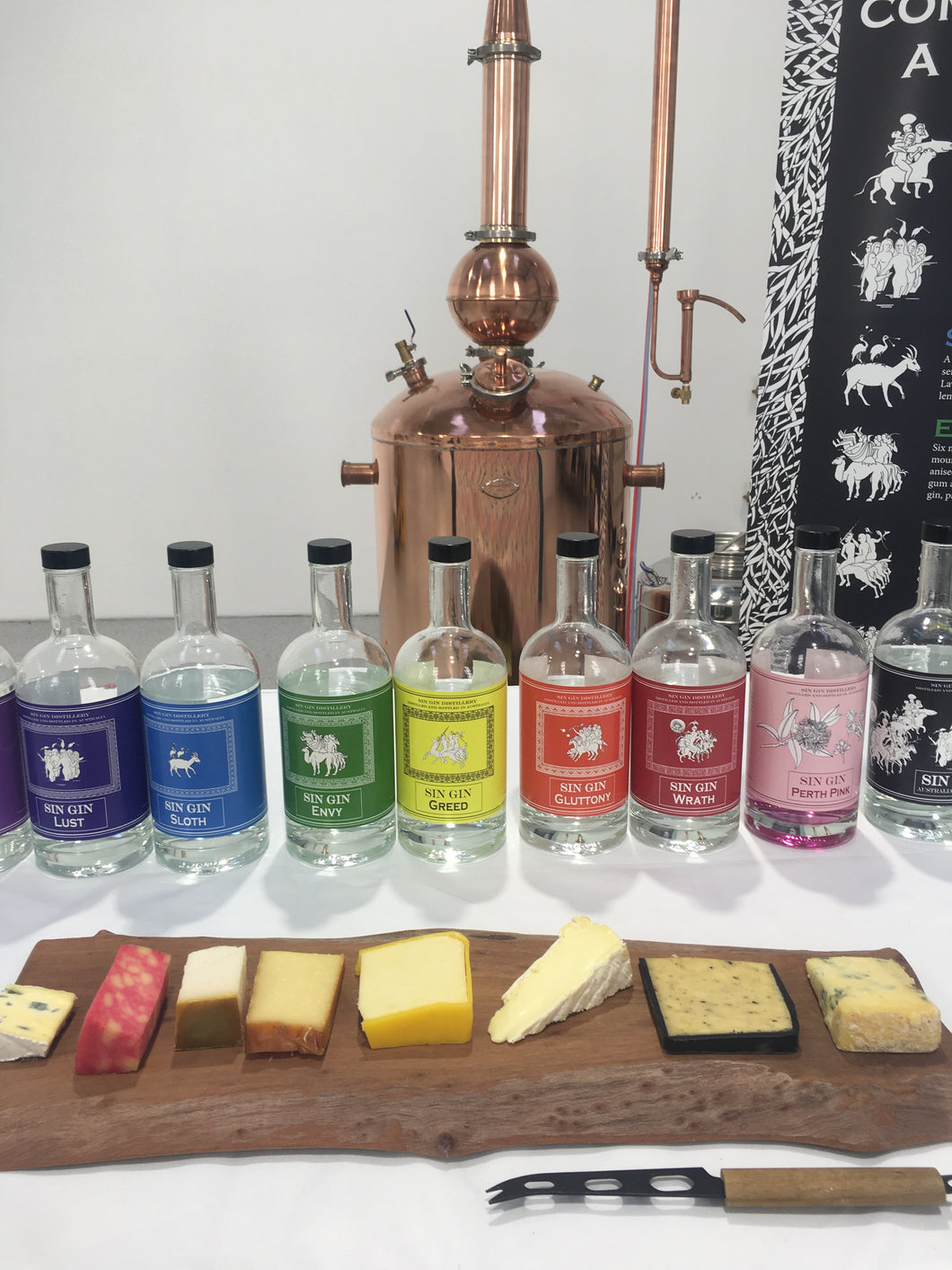 Gin Tasting We Come To You Party – about 40/50 people (9 x 700ml)