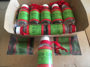 Xmas Christmas Sin Gin 7 x 50ml