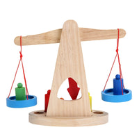 Educational Wooden Balance Scale