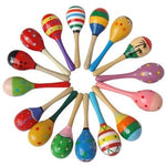 Small Wooden Toy Maracas  ( 1 piece)