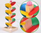 Wooden Tree Puzzle Marble Run