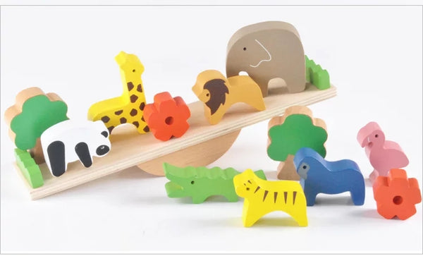 Animal Seesaw  and Wooden Balance