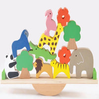 Baby Animal Seesaw Wooden Balance