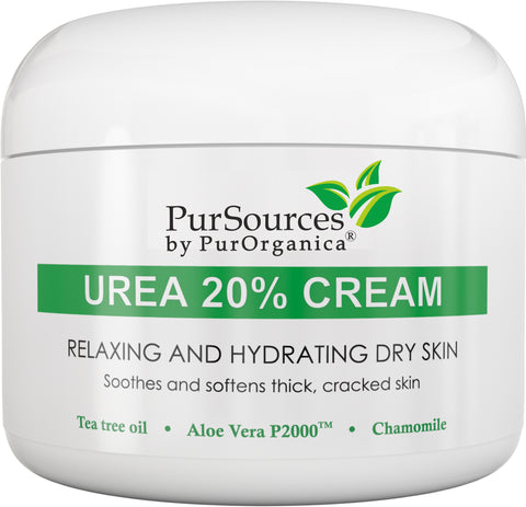 PurOrganica Urea 20% Foot Cream