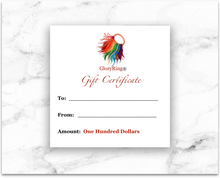 * A GloryRing® Gift Certificates