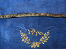 Tallit Bag Royal Blue & Gold