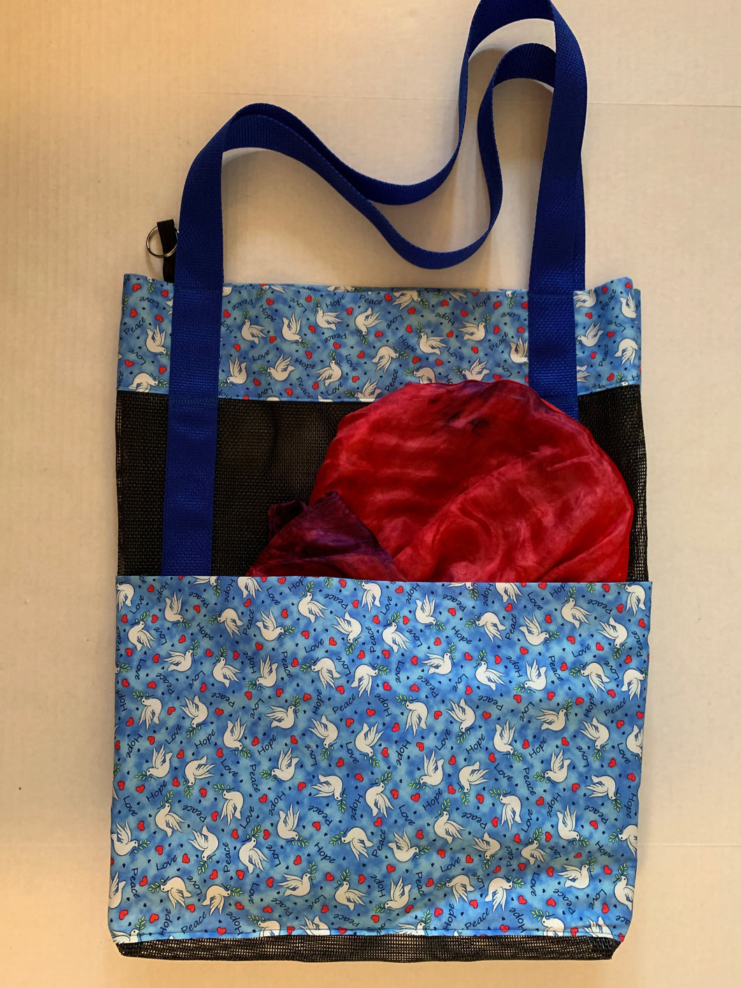 Dove of the Spirit  -       Flag Bag Tote