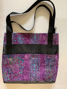 Graceful Batik Flag Bag Tote