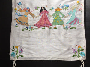Tallit Dancers Raw Silk