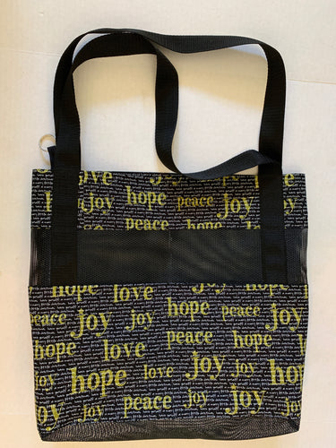 The Greatest Is Love   Flag Bag Tote