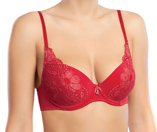 Cotton Cinnamon Bra