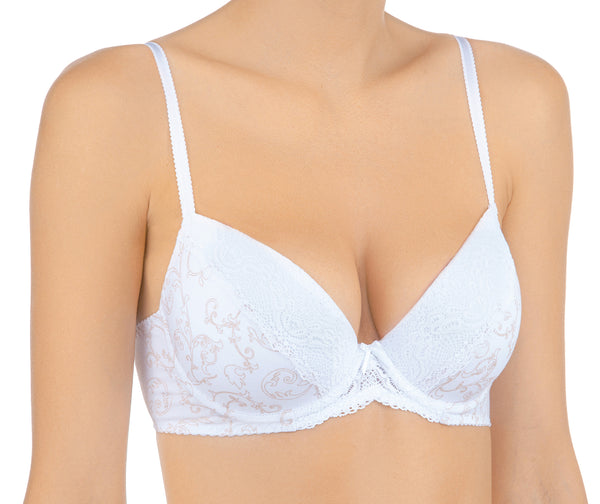 Cotton Eclair Push Up Bra