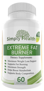 Thermogenic Fat Burner Weight Loss Pills Extreme Fat Burning Supplement 60 Natural Non Gmo Sugar Free Gluten Free Diary Free Veggie Capsules