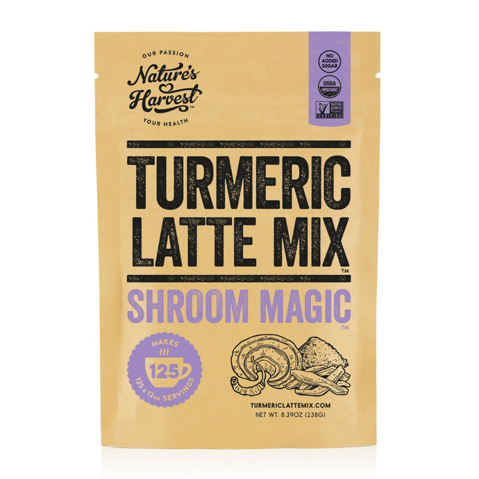 Turmeric Latte Mix SHROOM MAGIC™ 125 Serves 238g Refill Pack