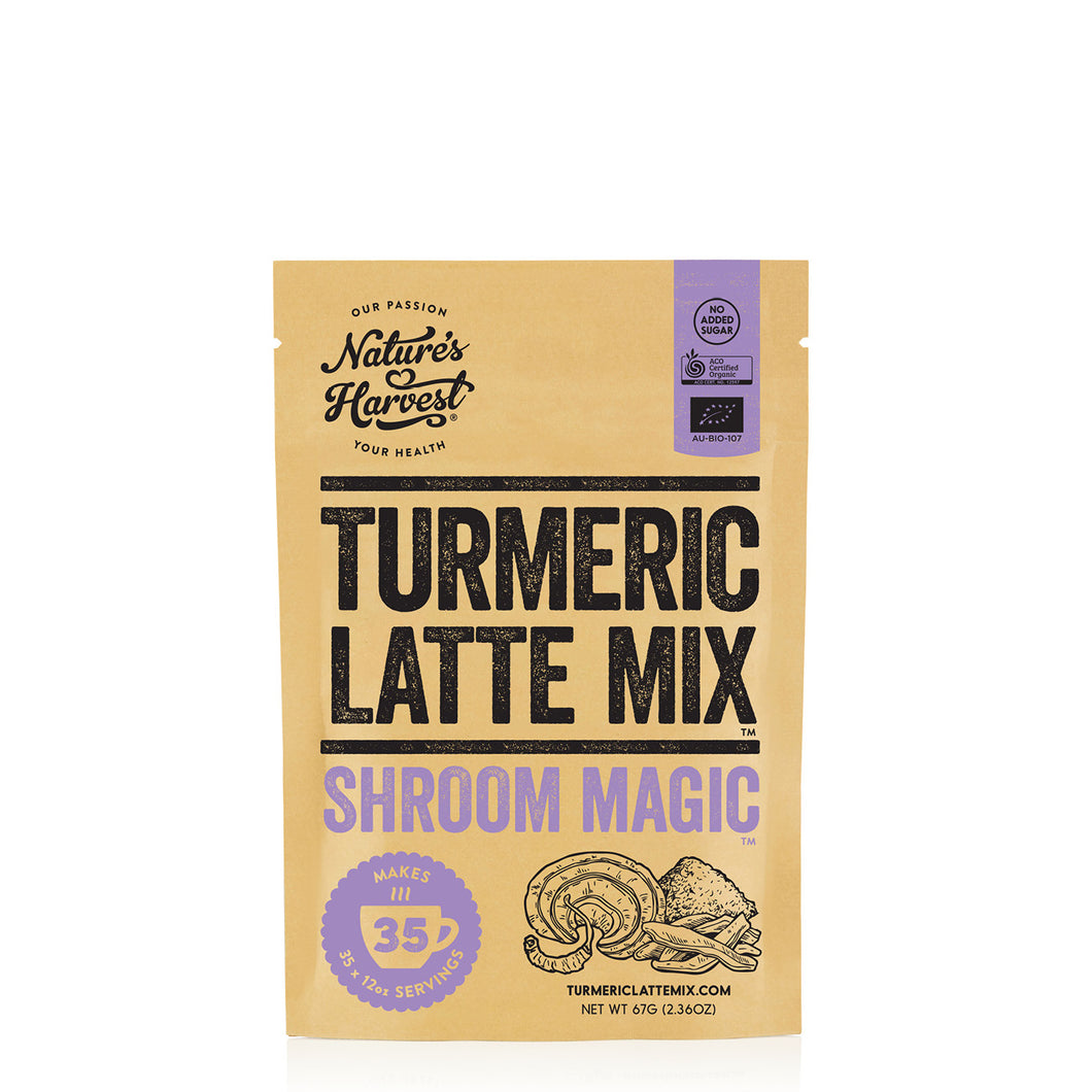 Turmeric Latte Mix SHROOM MAGIC™ 35 Serves 67g Pack