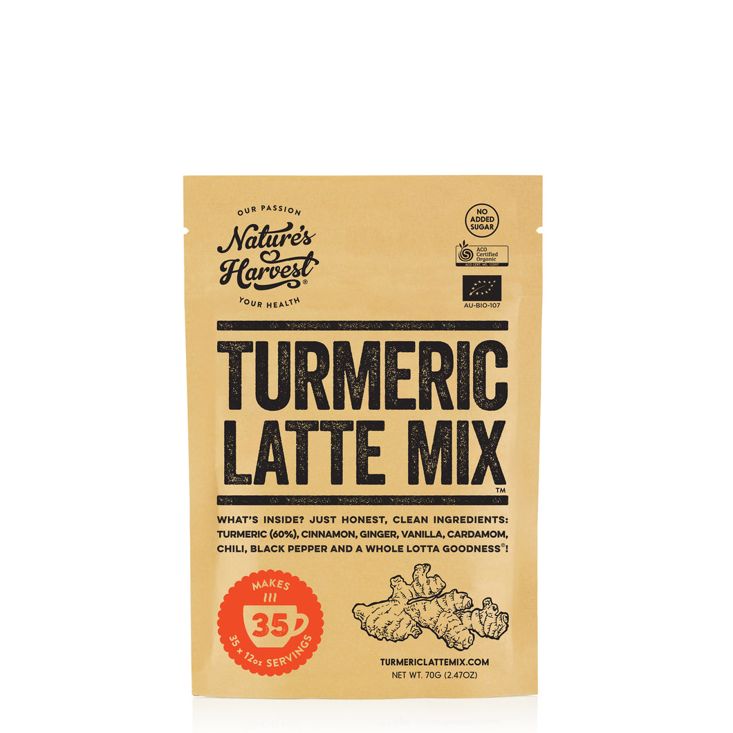 Turmeric Latte Mix 35 Serves 70g Pack