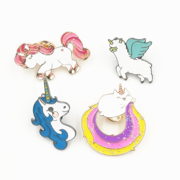 Cute Rainbow Animal Brooch Pins Jewelry - Fashion and Style777