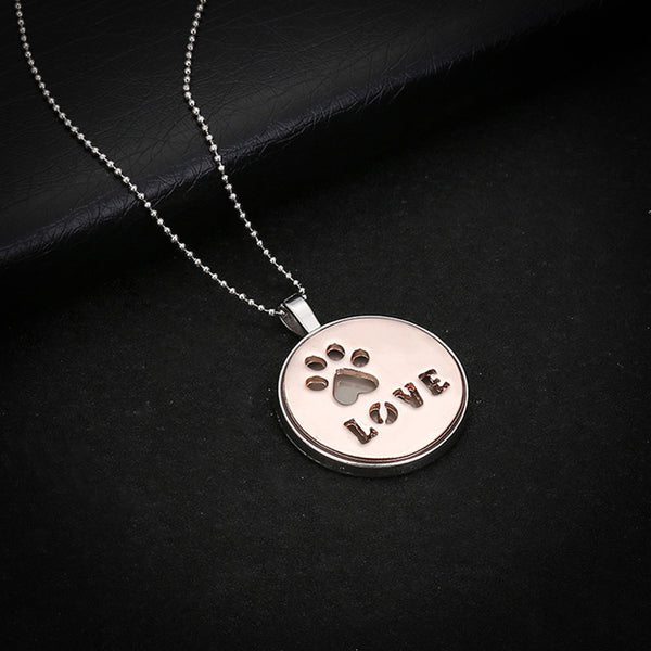 Cat Dog Paw Pendant Jewelry - Fashion and Style777