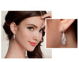 Silver Teardrop Earrings Free + Just Pay Shipping - Fashion and Style777