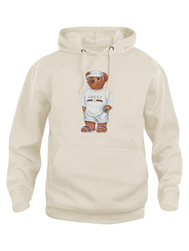 Cally The Bear - Creme Jilly Hoodie