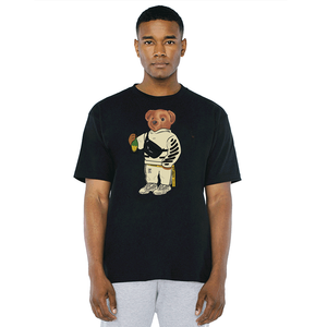 Cally The Bear - OFF Black Tee