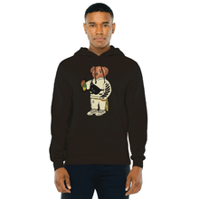 Load image into Gallery viewer, Cally The Bear - OFF BLACK HOODIE