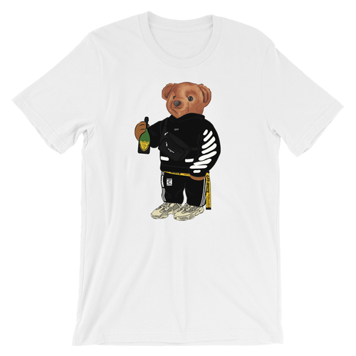 Calvin The Bear - OFF WHITE TEE