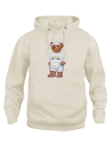 Limited Cally The Bear - Creme Jilly Hoodie