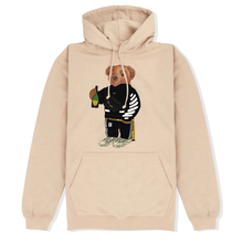 Load image into Gallery viewer, Cally The Bear - OFF CREME HOODIE