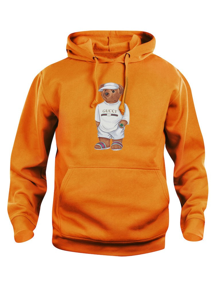 Limited Cally The Bear -  Orange Jilly sweater