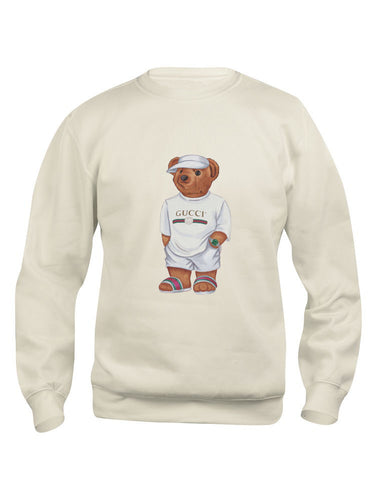 Cally The Bear- Creme Jilly Sweater