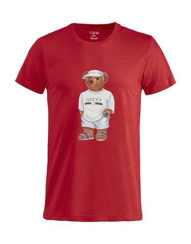 Limited Calvin the Bear - Red Jilly T-Shirt
