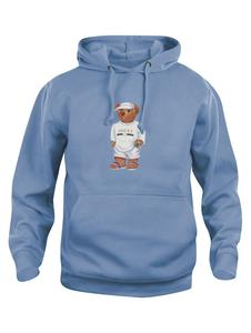 Cally The Bear - Baby Blue hoodie